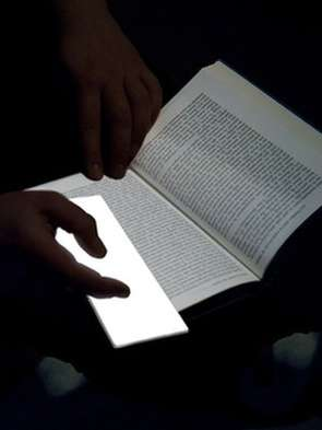 Glowing Bookmarks