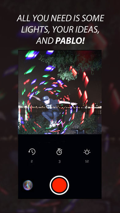 Light-Painting Photo Apps