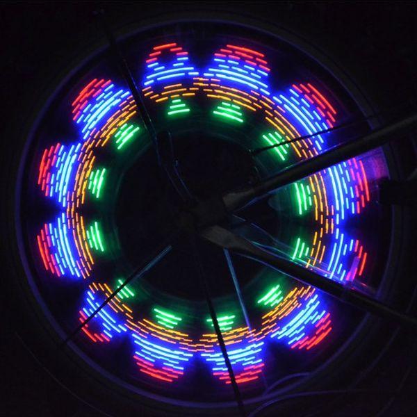 Illuminated Wheel Spokes Light Up Bike Wheels