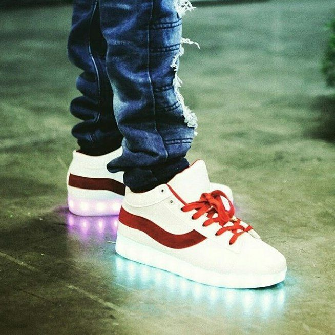 Celebrity Light-Up Sneakers
