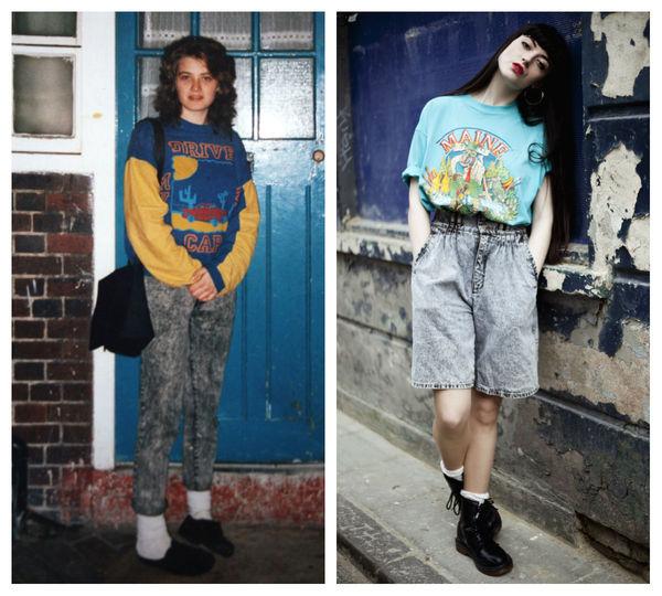 Nostalgic 90s Fashion Photos