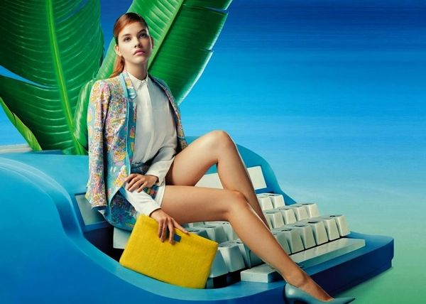 Surreal Office-Inspired Fashion Ads