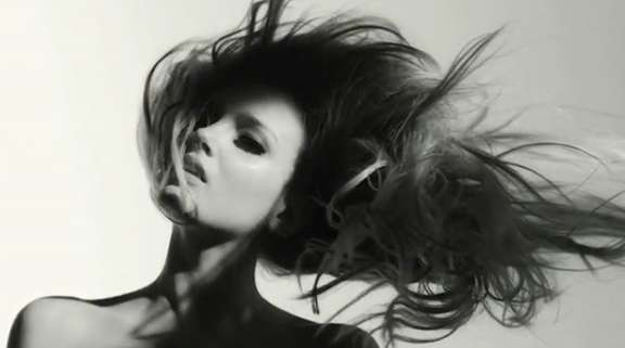 lily donaldson flying hair