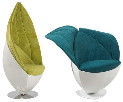 Leafy Folding Backrests