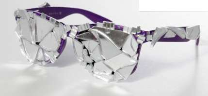 Shattered Reflective Sunnies
