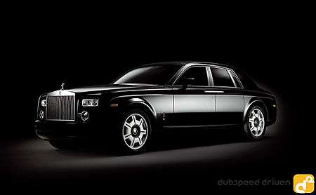 Limited Edition Rolls Royce Phantom Black