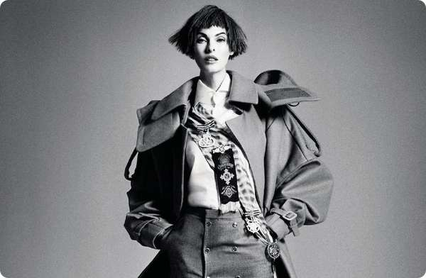 Linda Evangelista for Interview Russia September 2012
