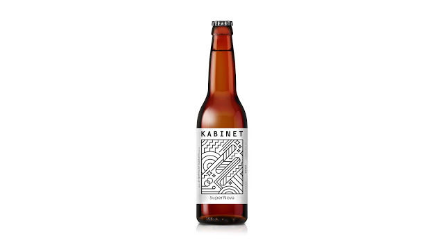 One Line Art Beer : Line art beer labels