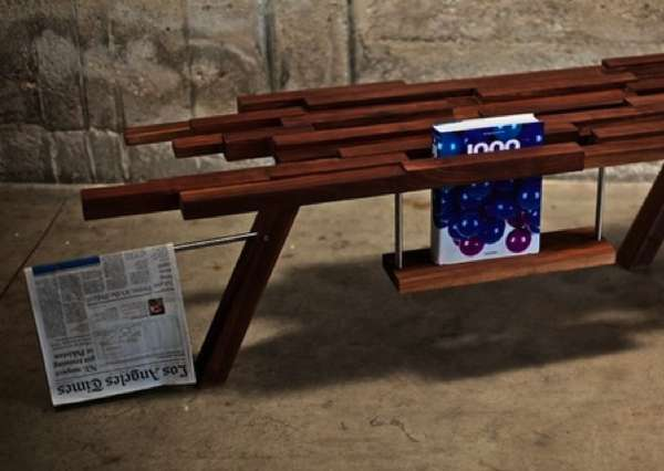 Splintered Timber Benches