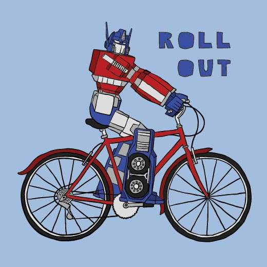 Biking Superheroes