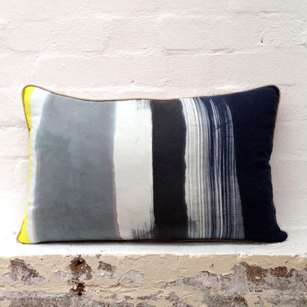 Chromatic Barcode Cushions
