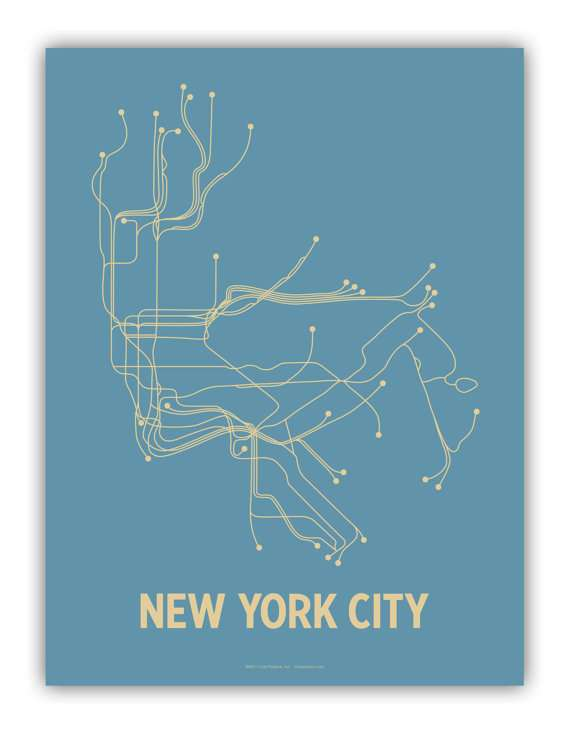 Simplistic Subway Maps