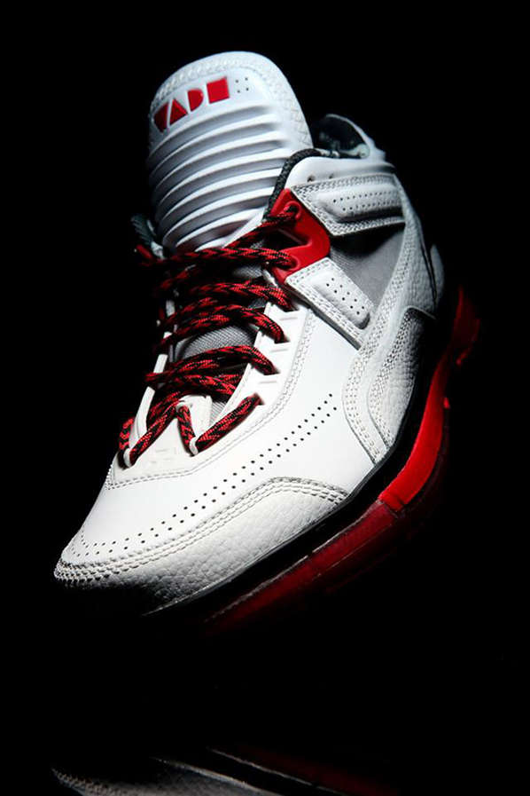 White Hot Basketball Kicks