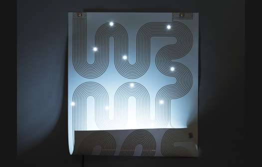 LED-Printed Posters