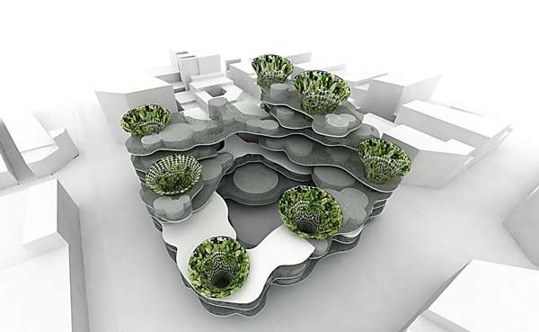 Bubble-Inspired Buildings