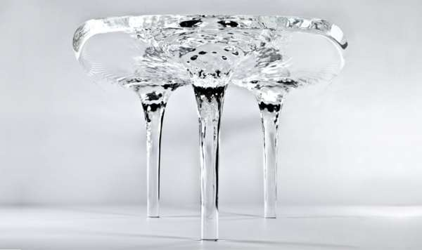 Delicate Icy Tables