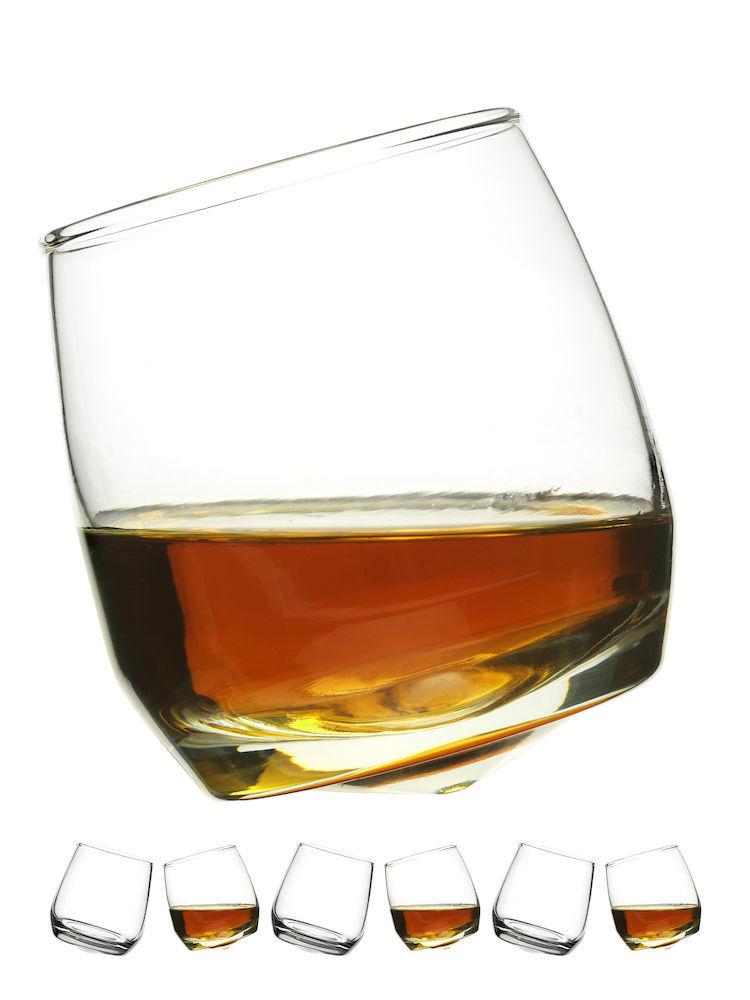 Angled Whiskey Tumblers
