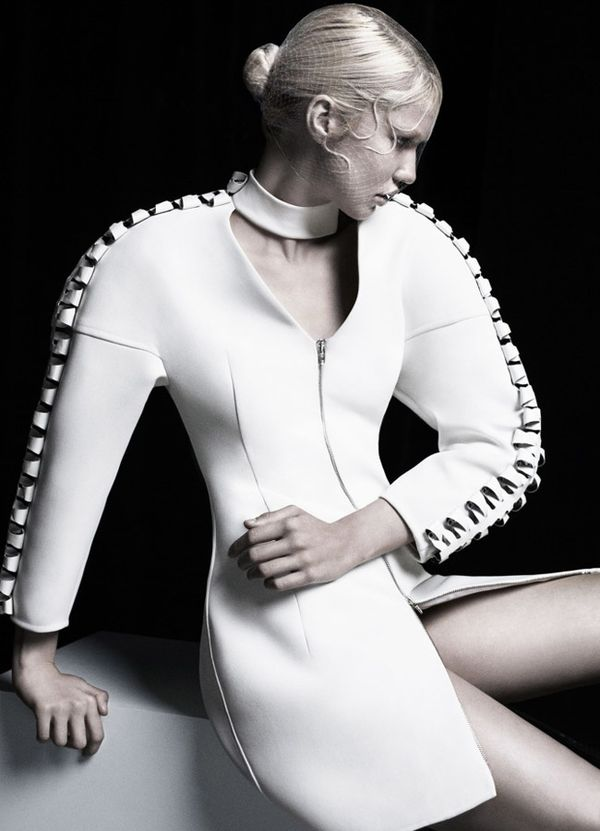 Ribbed Skeletal Couture