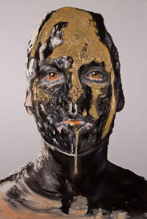Disfigured Dripping Portraits