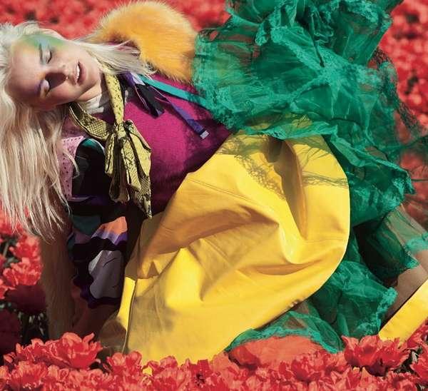 Floral Garden Editorials