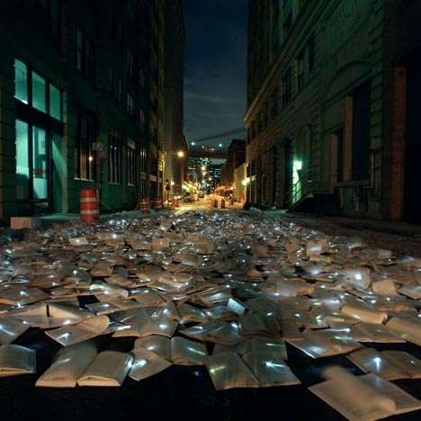 Literary Invasion Street Art