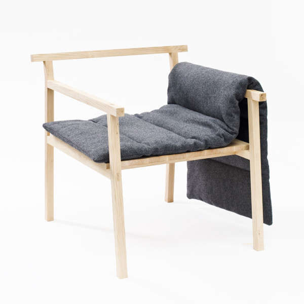 Cozy bare boned seating little giant chair for Small cozy chair