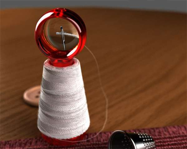 Magnifying Sewing Spools