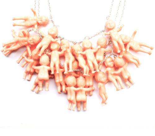 Peculiar Toy Necklace Pendants Little Lucia Jewelry