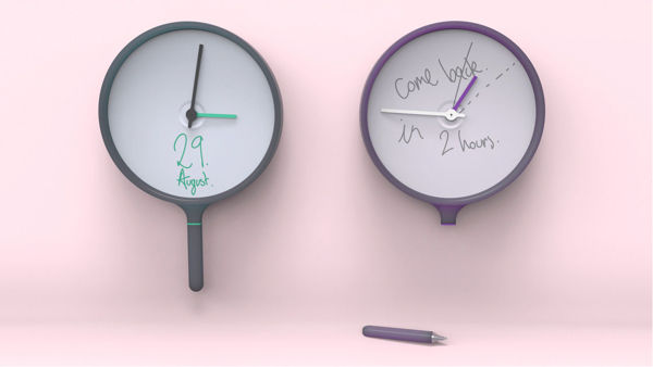 Whiteboard Wall Clocks