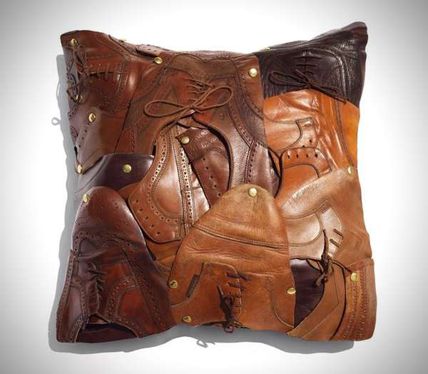 Leather Footwear Cushions