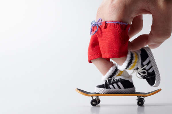 Adorable Finger Skateboards