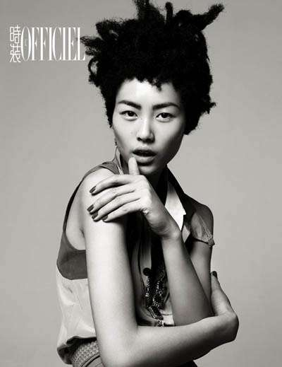 liu wen l'officiel china