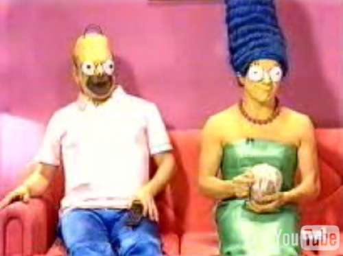 Live Action Simpsons in Spanish