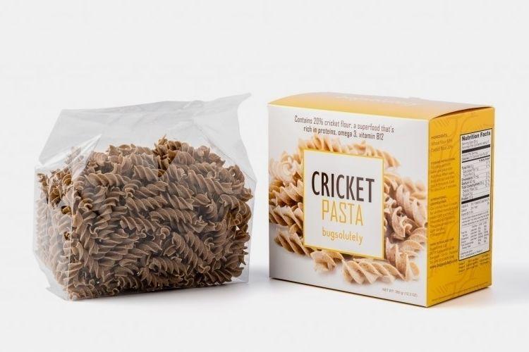 Cricket Flour Pastas