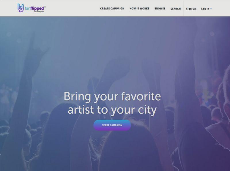 Crowdfunding Concert Platforms