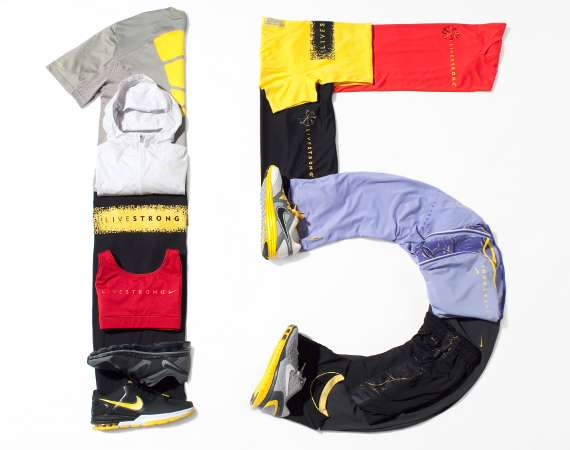 LIVESTRONG 15th Anniversary Collection