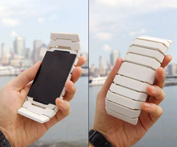 Morphing Muscular Mobile Phones