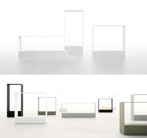 Minimalist Steel Hearths - Borja Garcia's Llar Fireplace ...