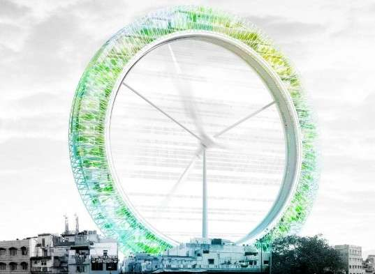 Ferris Wheel-Like Eco-Structures