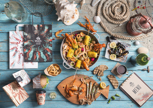 Lobster Shack Restaurant Branding