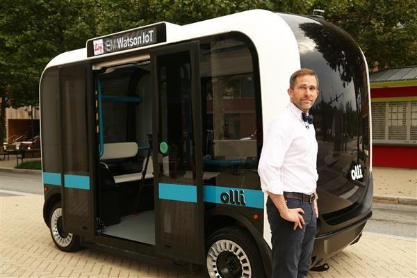 Autonomous IoT Vehicles