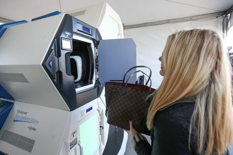 Baggage-Screening Lockers