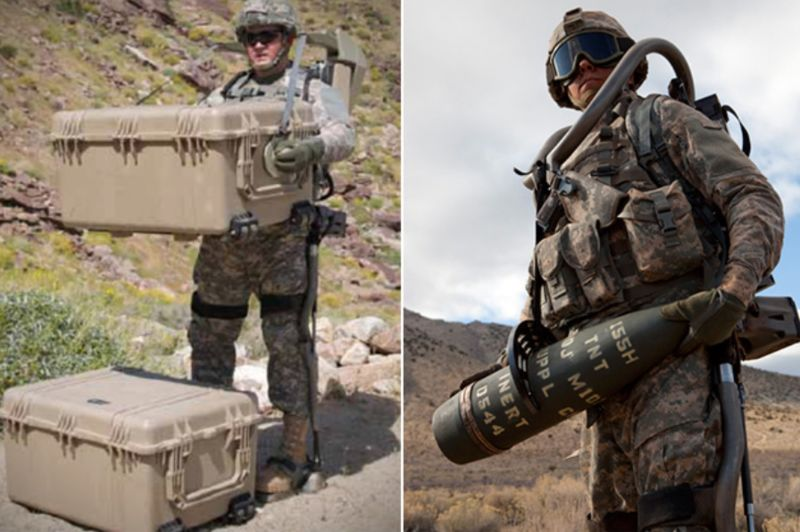 Robotic Military Suits
