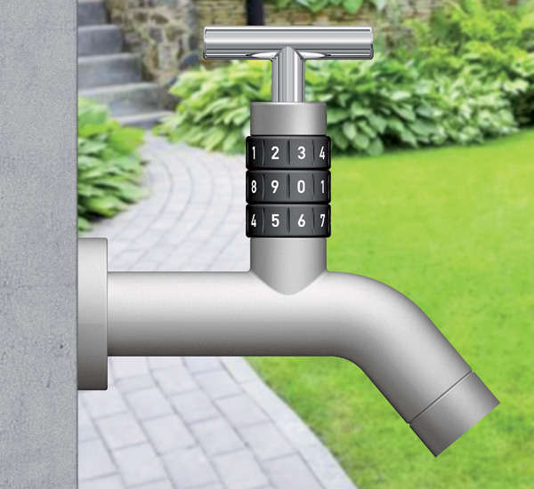 Sealed Garden Spouts : Locko Outdoor Faucet