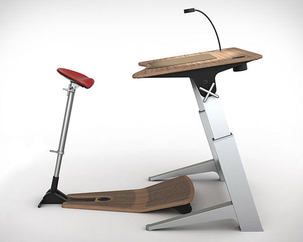 Bicycle-Inspired Workstations