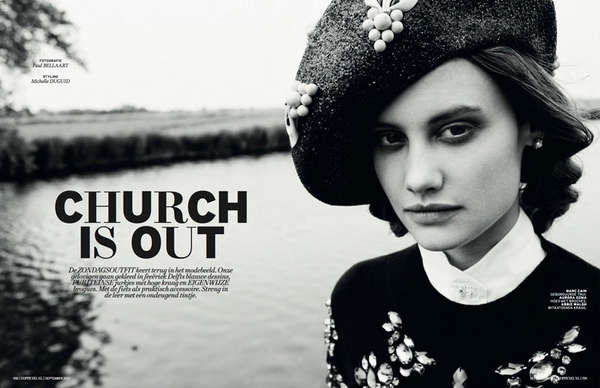 L'Officiel Netherlands 'Church is Out'