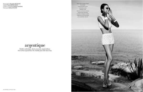 Uptown Beachwear Editorials