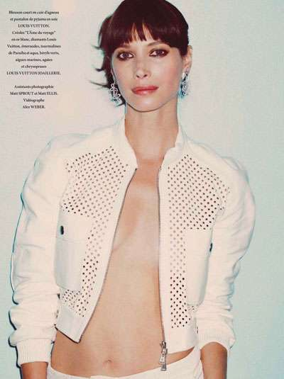 L'Officiel Paris Christy Turlington