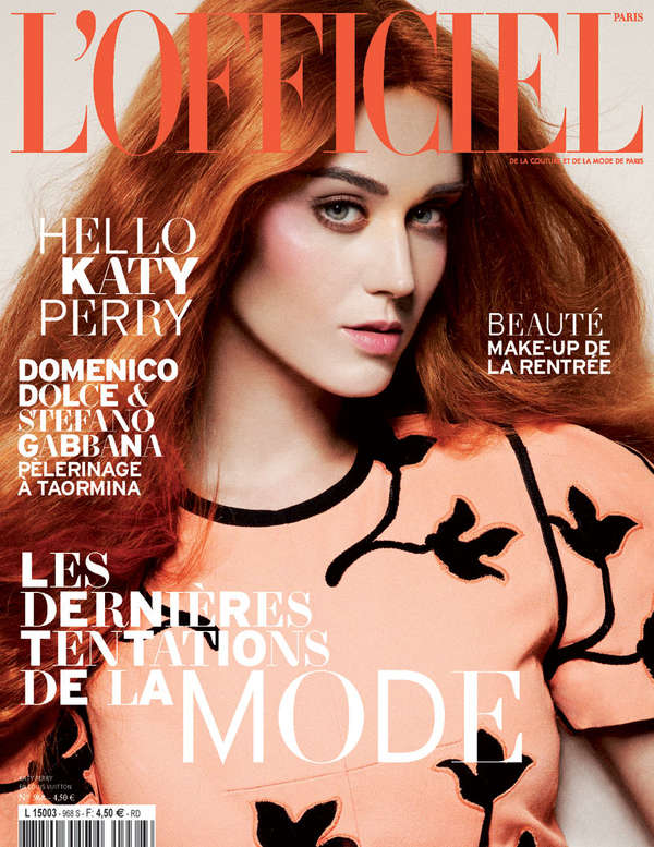 L'Officiel Paris Katy Perry