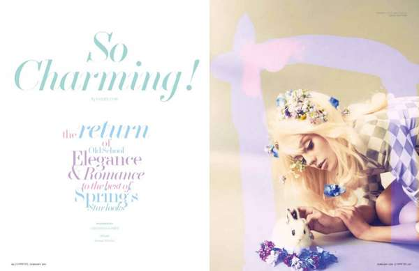 L'Officiel Singapore 'So Charming'